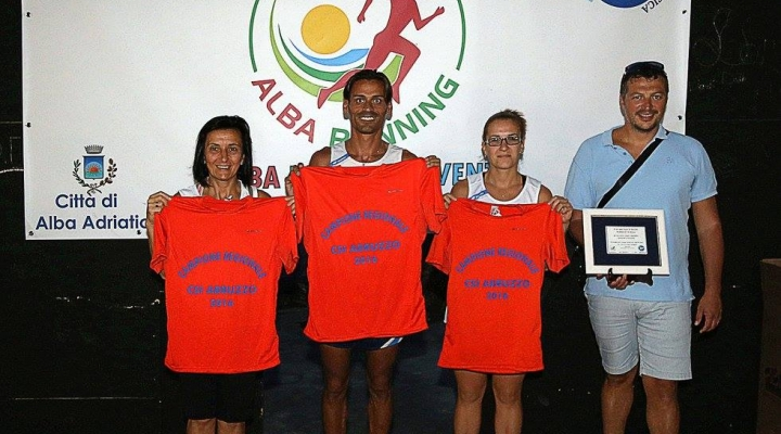 Ad Alba Adriatica assegnati i titoli Regionali di Corsa su strada