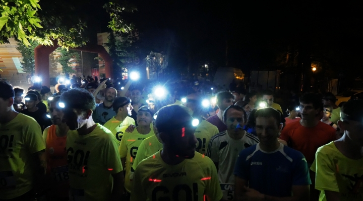 Podismo: L'Aquila si illumina con la Light Run!