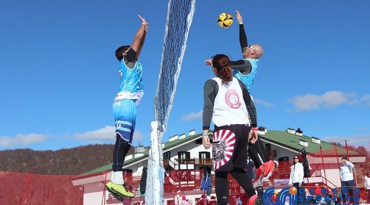 Grande successo per la data abruzzese di snow volley