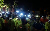 Podismo: L'Aquila si illumina con la Light Run!
