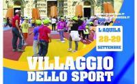 L'Aquila: un Villaggio per animare con lo sport