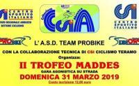 """Ciclismo: domenica a Piano d'Accio torna il """"Trofeo Maddes"""""""